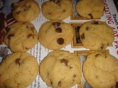 KEEBLER Soft Batch CHOCOLATE CHIP COOKIES * molasses, instead of brown ...