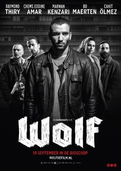 'Wolf' movie poster   design by Jay Sunsmith