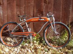 Vintage Bikes, Vintage Motorcycles, Custom Rat Rods, Cruiser Bicycle, Rats, Cycling, Guy Stuff, Bobbers, Lowrider