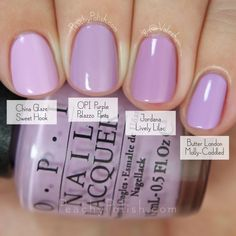 OPI: Fall 2015 Venice Collection Comparisons