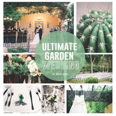 Ultimate Garden Wedding at The Wright House - Mesa, AZ - Check out the greenery must for all your garden wedding needs