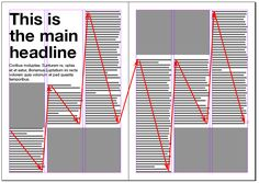 Magazine Spreads, Good and Bad Practices