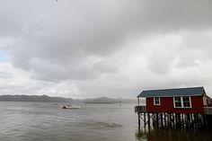 Hokianga Harbour at Rawene, New Zealand New Zealand