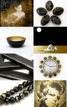 Black and Gold-Pinned with TreasuryPin.com