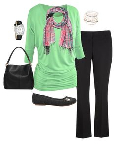 """""""Plus Size Outfit, Plus Size Fashion"""" by jmc6115 on Polyvore featuring maurices, Red Camel and Geneva"""