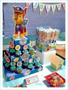 Original idea para comida de una celebración de cumpleaños de Paw Patrol.#PatrullaCanina #fiestadecumpleaños