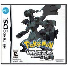Pokemon - White Version, (pokemon, black and white, nintendo ds, nintendo, video games, ds, 5th gen, white, 3ds, rpg)