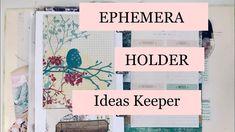 Ephemera Holder / Ideas Keeper - Garden Themed - DT On A Whimsical Adven...