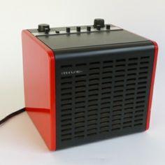 Cube Radio from the seventies Radio Mivar Milano