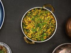 Spiced Dal with Peanuts and Dill