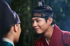 Park Bo Gum looks shockingly handsome in bts cuts from 'Moonlight Drawn by…