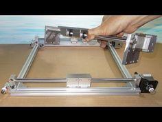Homemade RepRap Prusa 3D Printer Frame DIY X Y Z Stage Slide CNC Linear ...