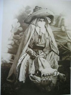 Woman from Rif in 1880