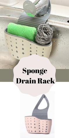 Sink Organization | Sink organization sponge holder | Sponge holder | sink sponge holder | kitchen sink sponge holder | Sponge Drain Holder | Storage Rack Basket | Kitchen Sink |  Kitchen Design | Kitchen Storage | Kitchen Accessories | Kitchen Tools   #orderconcept #sinkspongeholder #spongedrainholder Kitchen Storage Boxes, Kitchen Sink Organization, Sink Organizer, Organization Hacks, Kitchen Sponge Holder, Organizing Your Home, Staying Organized, Household Items, Bubbles
