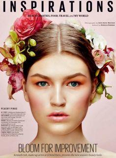 Kenneth Soh using L'Oreal Paris for ES Magazine