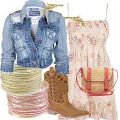 Everything but the boots...i still can't bring myself to put on cowboy boots