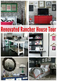 6 Amazing Transformations {Rain on a Tin Roof} - Just a Girl and Her Blog