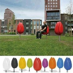 Tulip chairs!