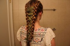 Love this braid style! Very medieval
