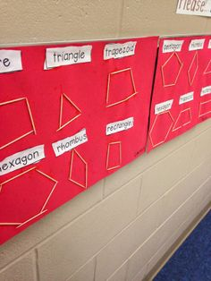 Mrs. Wheeler's First Grade Tidbits: Geometry - Shapes with toothpicks. Judah will like this when he is old enough to use toothpicks.