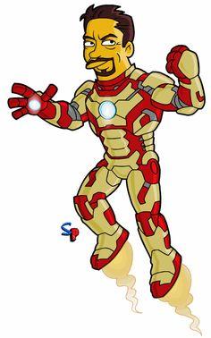 Iron Man gets Springfield Punx'd