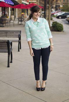 aj wears clothes :: little rock arkansas style blogger: AJ Wears :: An Elephant sweater