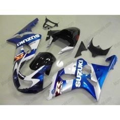 Suzuki GSX-R 1000 2000-2002 K1 K2 Injection ABS Fairing - Others - Blue/White/Black | $639.00