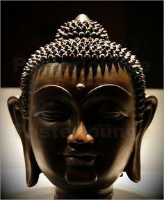 Poster / Leinwandbild buddha braun - ANOWI