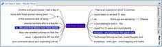 NVivo image: Word tree
