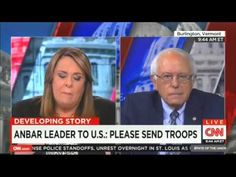 Bernie Sanders Reminds Candy Crowley: ISIS Only Exists Because The 'Disastrous' Bush-Cheney Blunder | Crooks and Liars