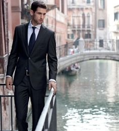 Dont wear a business suit. Wear a suit that is The Business. Sharp Dressed Man, Well Dressed Men, Looks Style, My Style, Real Style, Mens Fashion, Fashion Outfits, Daily Fashion, Style Fashion