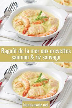 Ragoût de la mer aux crevettes, saumon & riz sauvage – Page 2 – Bon À Savoir