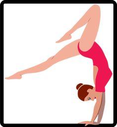 PublicDomainVectors.org-Gymnast-ikonen Gymnastics, Clip Art, Disney Princess, Disney Characters, Fitness, Caramel, Free, Digital, Shopping