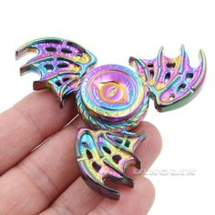 Rainbow Dragon Wings EDC Hand Spinner Fidget Focus Toy ADHD Autism Finger Gyro
