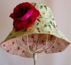 Como hacer sombreros con moldes