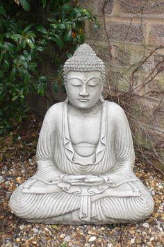 Meditating Garden Buddha Garden statues Buddha garden and Buddha