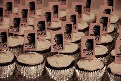 Ideas for my Mom's 70th Birthday Party - personalized cupcakes. by FutureEdge