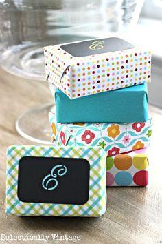 Designer Wrapped Soaps