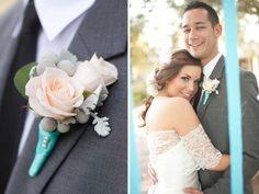 Boutonniere Gorgeous Southern California Inspired Winter Wedding