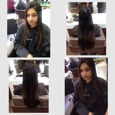 3rd March 2015 Today I done a one length cut with a square layer and forward graduation and finished off with a straight blow dry