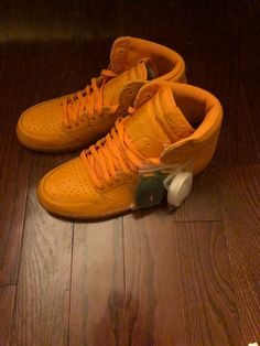on sale 8d8ee b67f3 Air Jordan 1 Retro High Gatorade Orange Peel- Deadstock - Size 11.5-   fashion