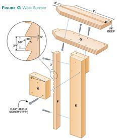 Hybrid Shaving Horse - The Woodworker's Shop - American Woodworker Woodworking Horse, Green Woodworking, Woodworking Furniture Plans, Woodworking Workbench, Woodworking Workshop, Popular Woodworking, Woodworking Classes, Log Bedroom Furniture, Sticks Furniture