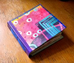 How to make a Hand-bound and Stitched duct tape art journal