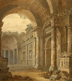 architectural paintings - Google Search