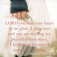 Do you lose sight of the path you are on? I do sometimes but I know that I know that I know, the LORD will put me right again.
