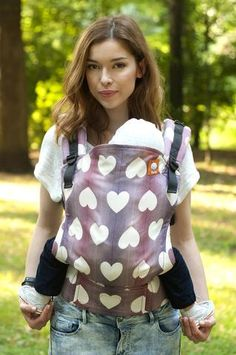 Wrap Conversion (Standard Size) Full Wrap Conversion Tula Baby Carrier - Tula Love Soigne 1 - Baby Tula