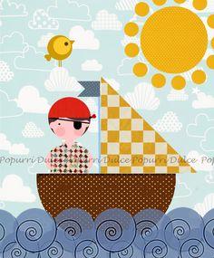 Pequeño pirata, Dulce Popurrí