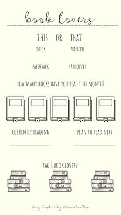 Book Lovers -  Instagram Story Templates for Homeschool Bloggers and Influencers