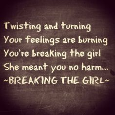Red Hot Chili Peppers - Breaking the girl