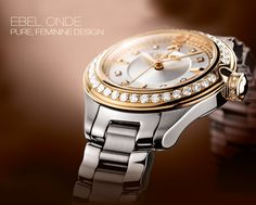 Pure feminine design by #Ebel